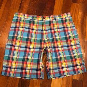 "⭐️ New Tommy Hilfiger 9"" Plaid Shorts Size 38"
